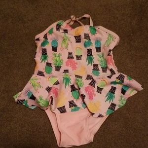 Other - Cactus bathing suit girls 3t